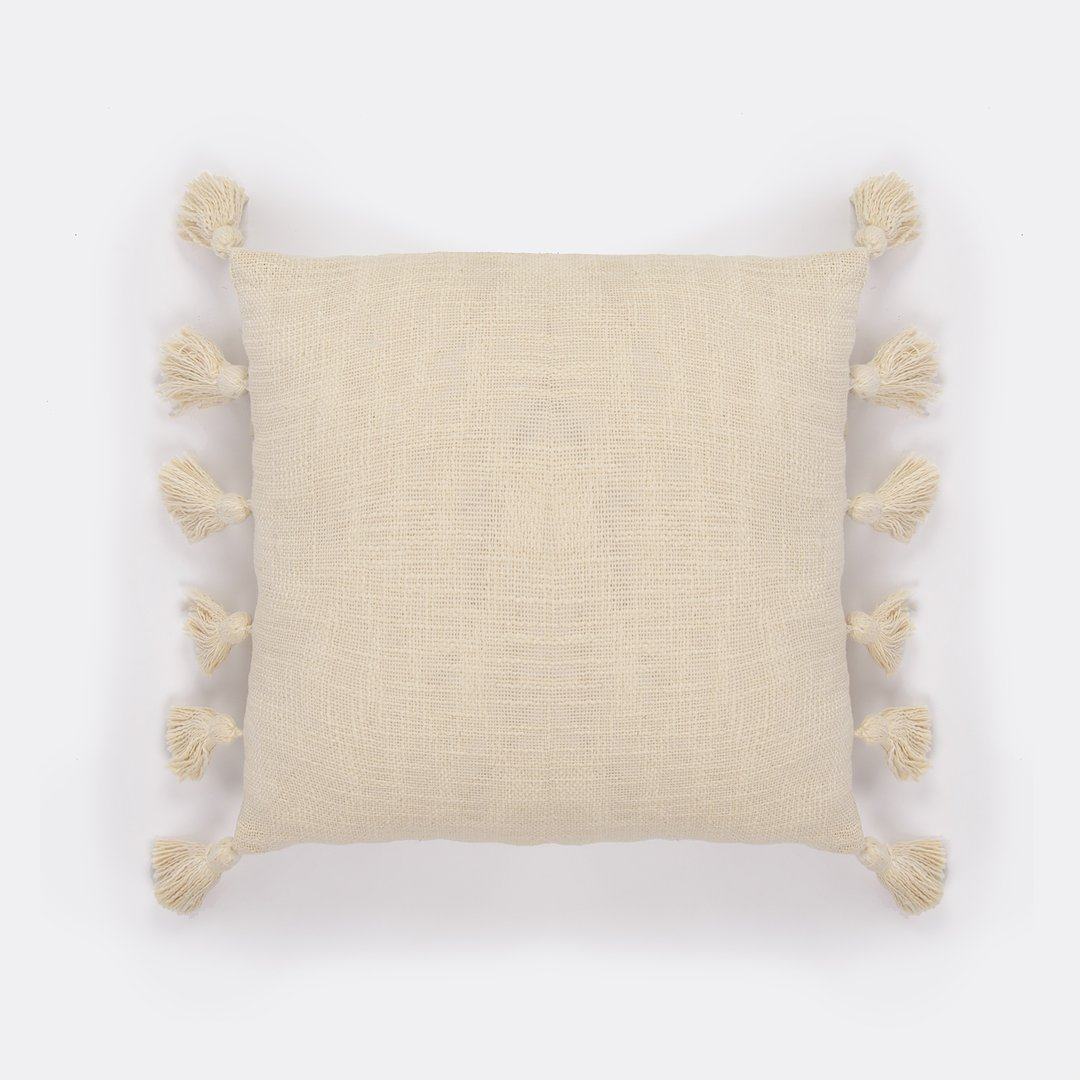 French Alabaster Cushion