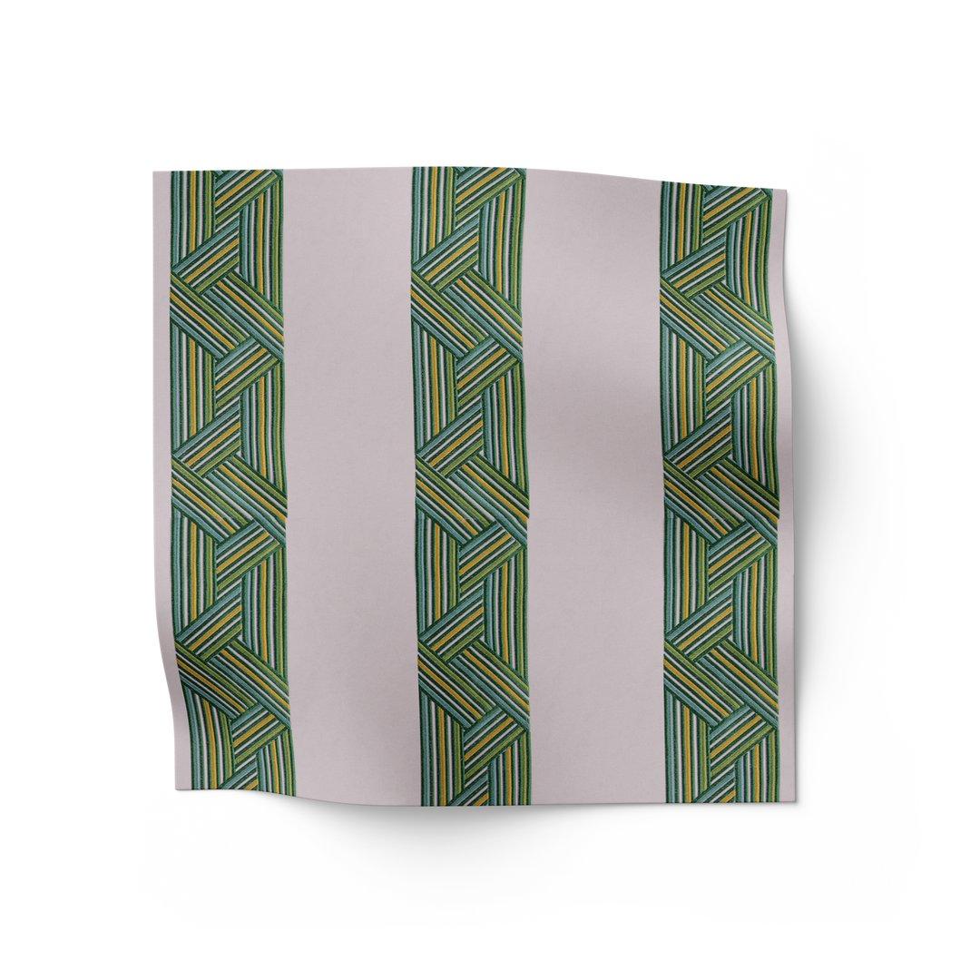 Entangled Stripes Fabric