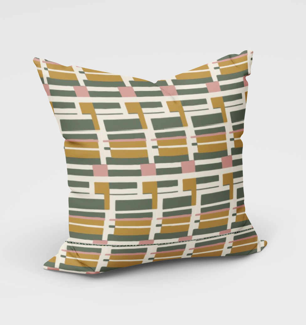 Retro Budapest Cushion