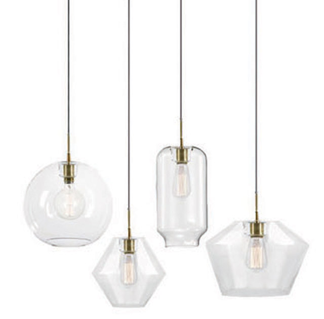 Clear Glass Pendant Lighting