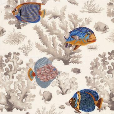 Les Empereurs Curtain Fabric
