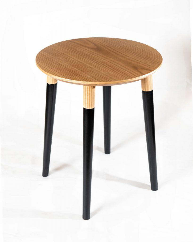 Basic Black Side Table