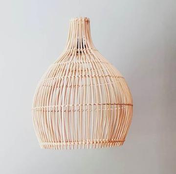 Cone Shaped Bamboo Lighting