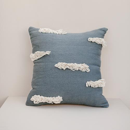 Light Blue Stratus Cushion