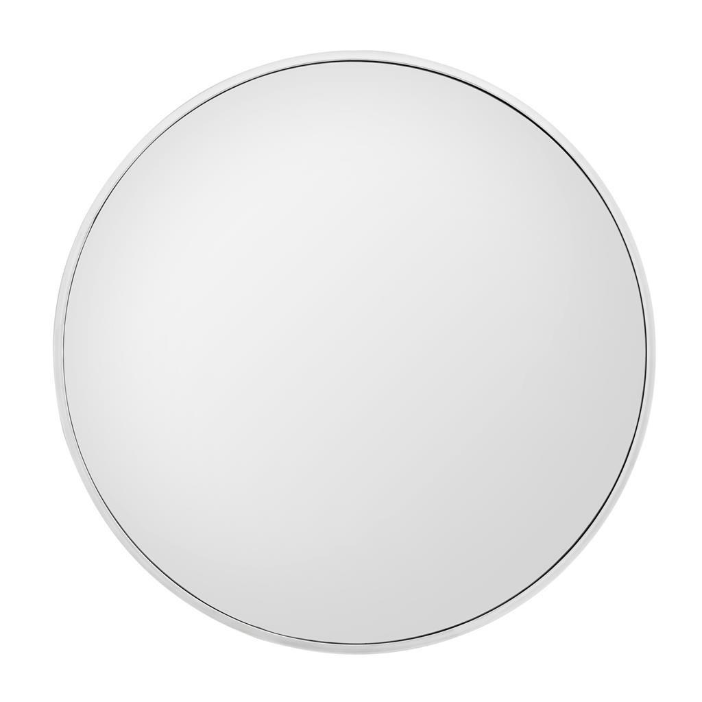 Stainless round mirror