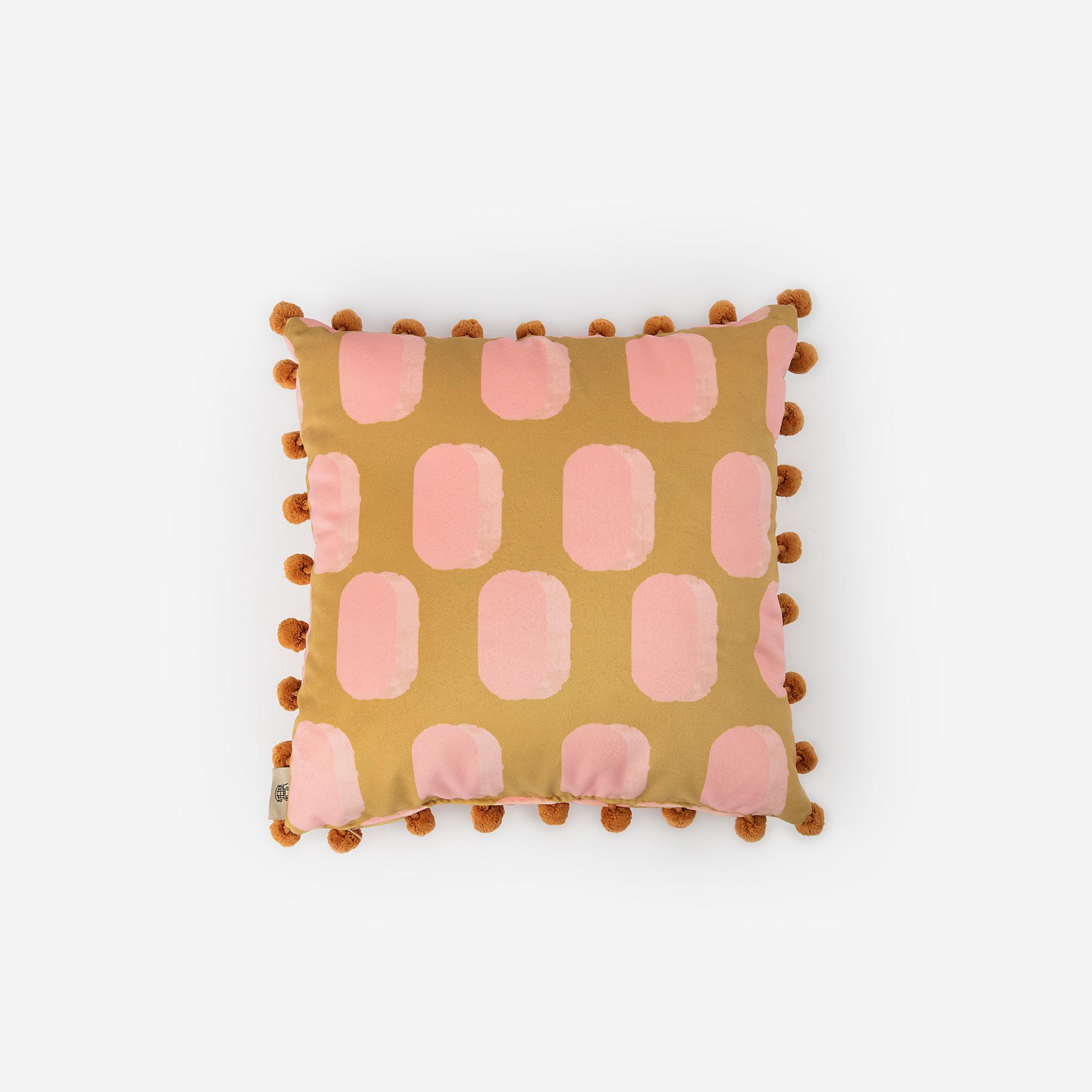 Bubblegum Cushion
