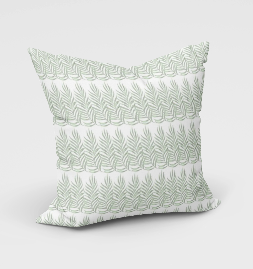 Olive Leaf Cushion