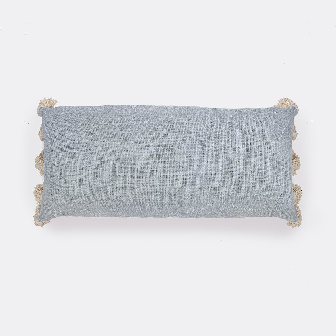 French Baby Blue Cushion