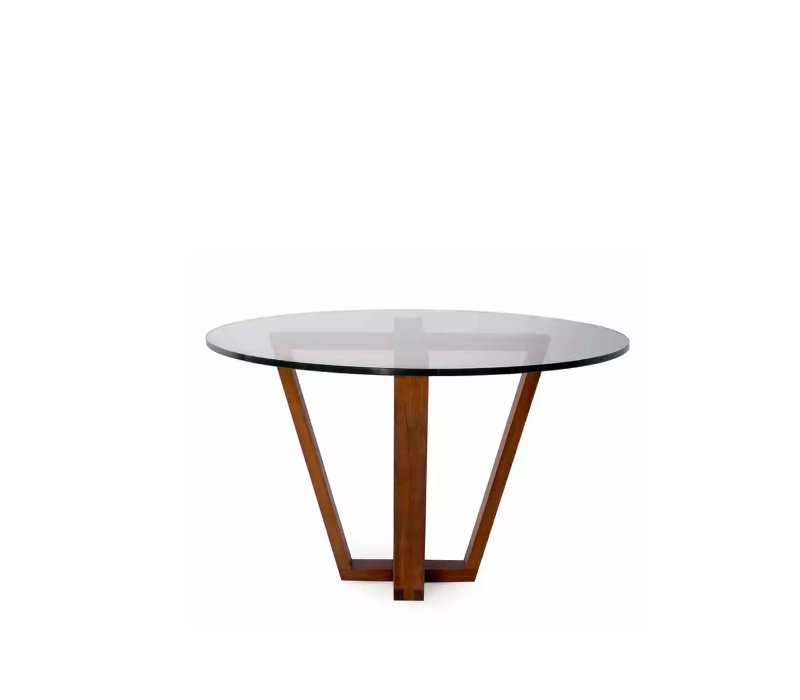 Trapeze Round Dining Table