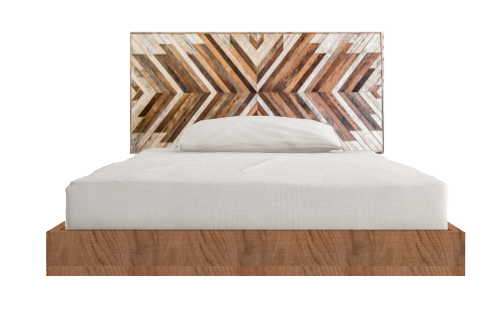 Reclaimed Wood Single Bed
