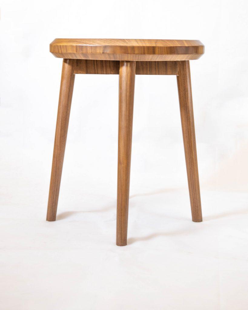 Basic Walnut Side Table