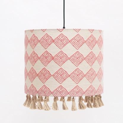 Horizon Cylinder lampshade
