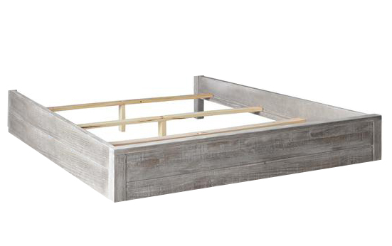 Grey Bed Box 180cm