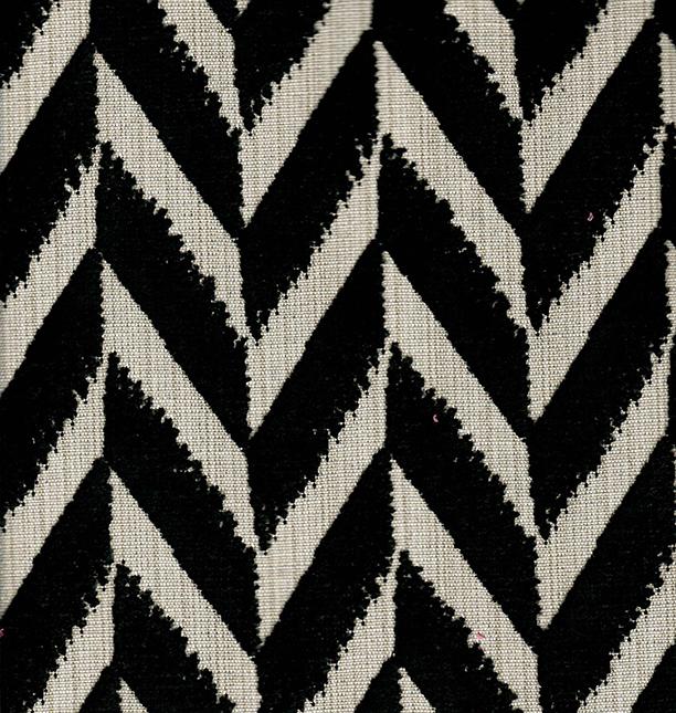 Back to Origins Chevron Velvet Fabric