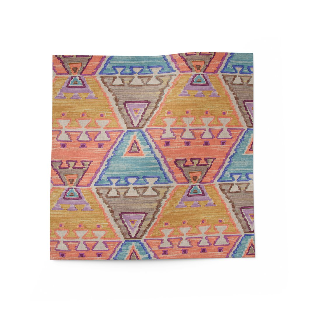 Cheerful Ikat Fabric