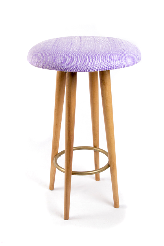 Re Bar Stool Purple