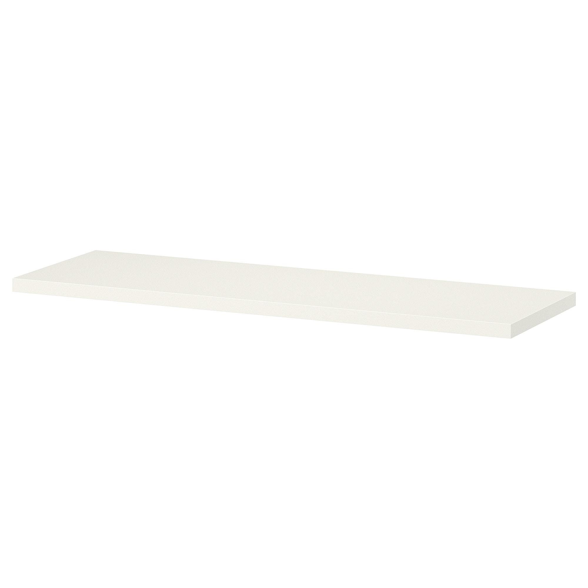 Floating White Shelf