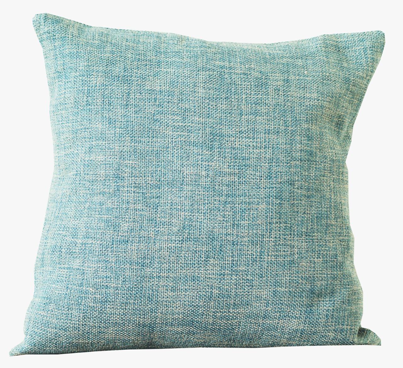 Corbin Bluebell cushion