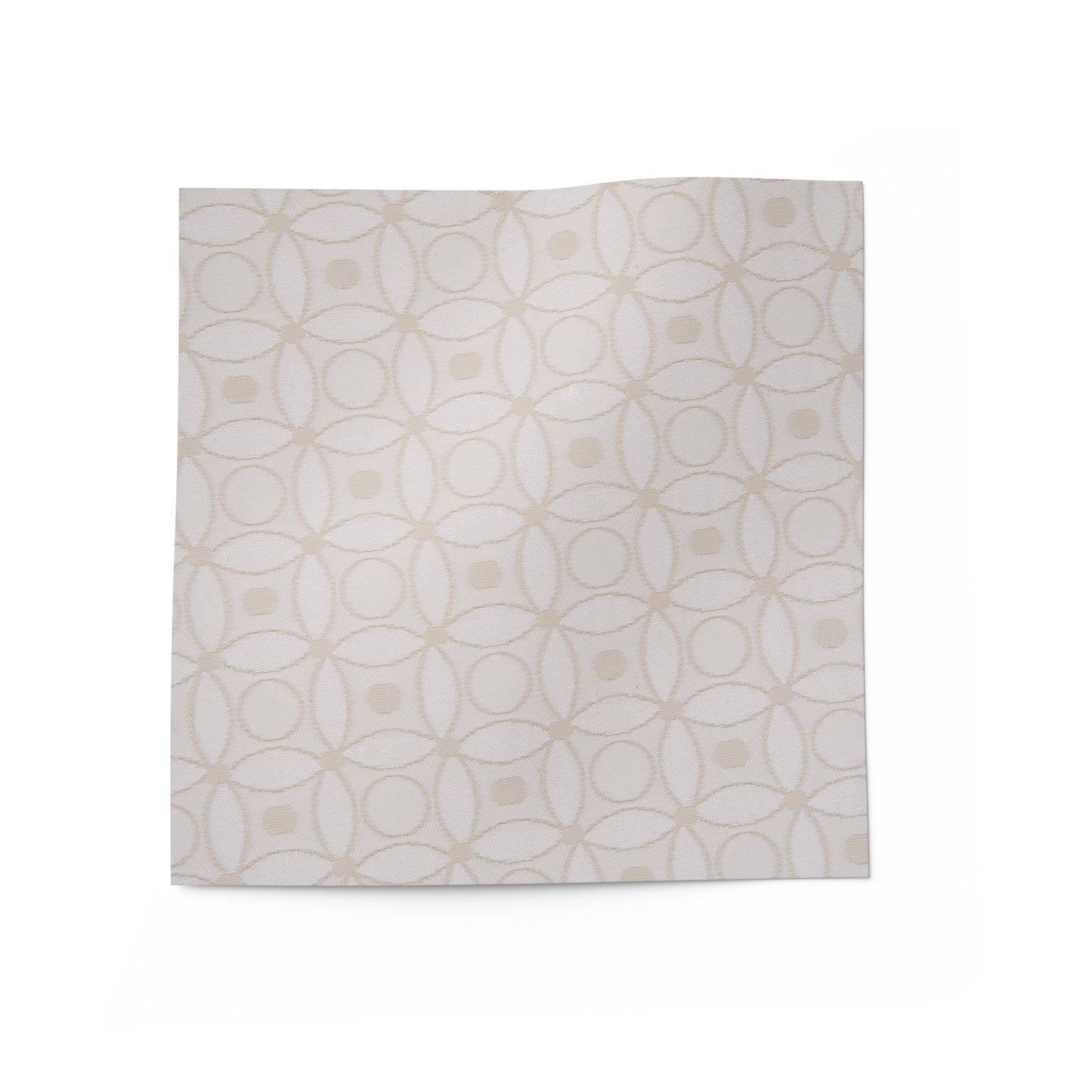 Quilted Eggshell Fabric