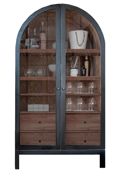 Arched Cabinet (4 Drawers)