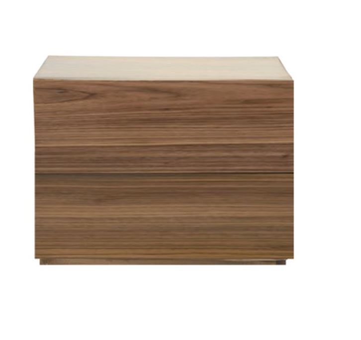 Two-Drawer Bedside Table