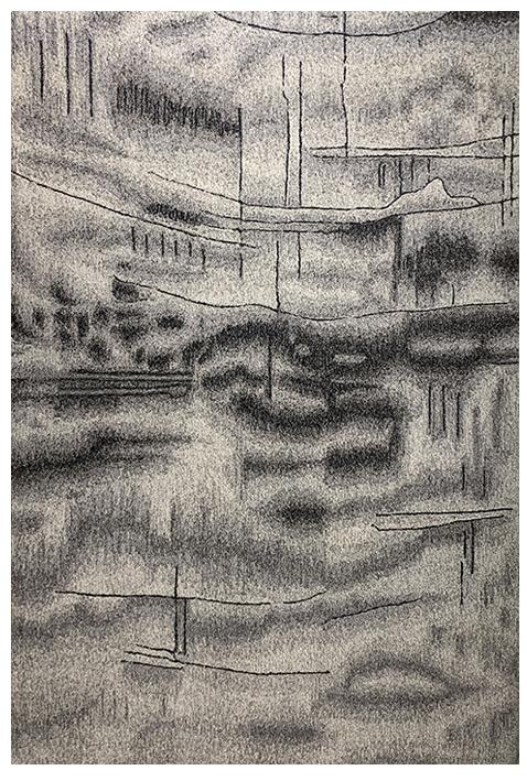 Giovanni Tuft Grey Modern Rug (7915)