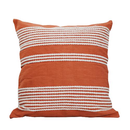 Orange Meadow Cushion