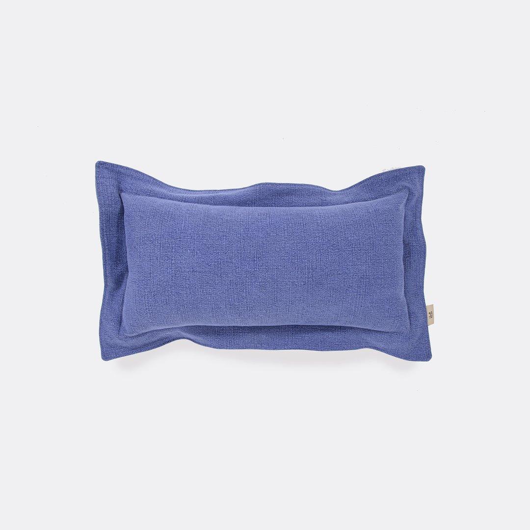 Washed Linen - Indigo Cushion