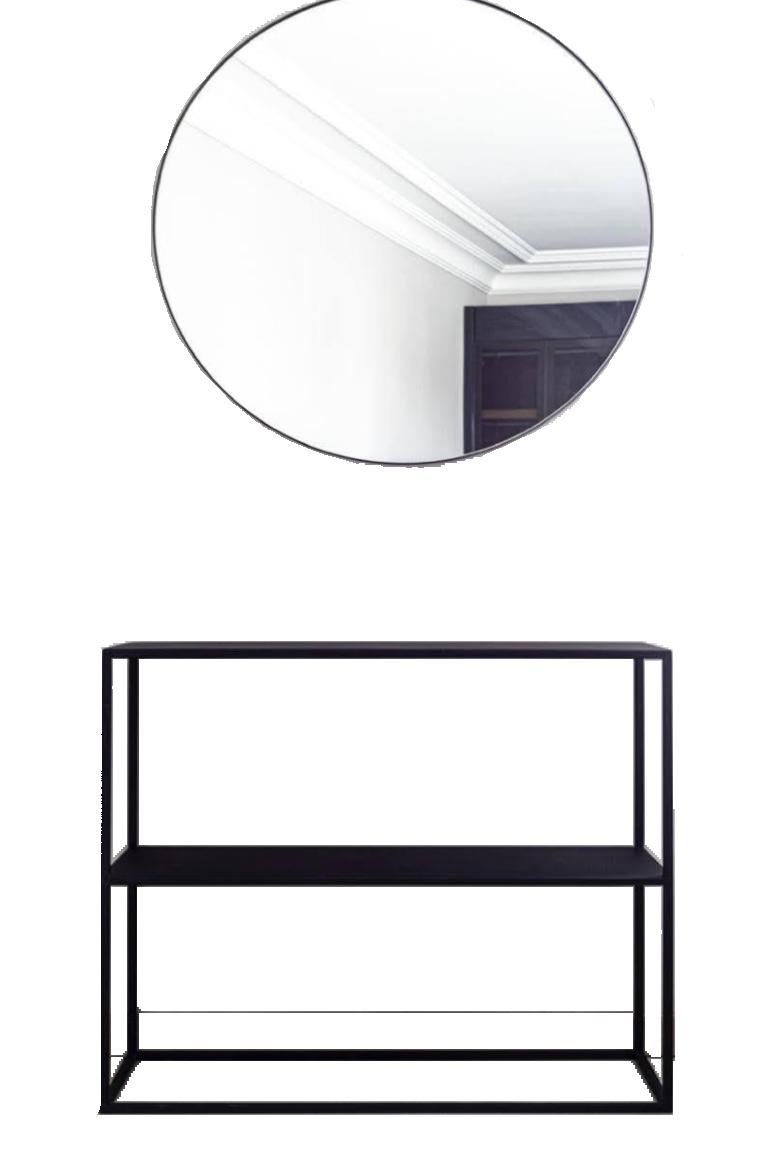 Macao Console & Mirror Set