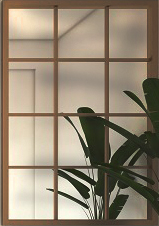Simple Grid Mirror