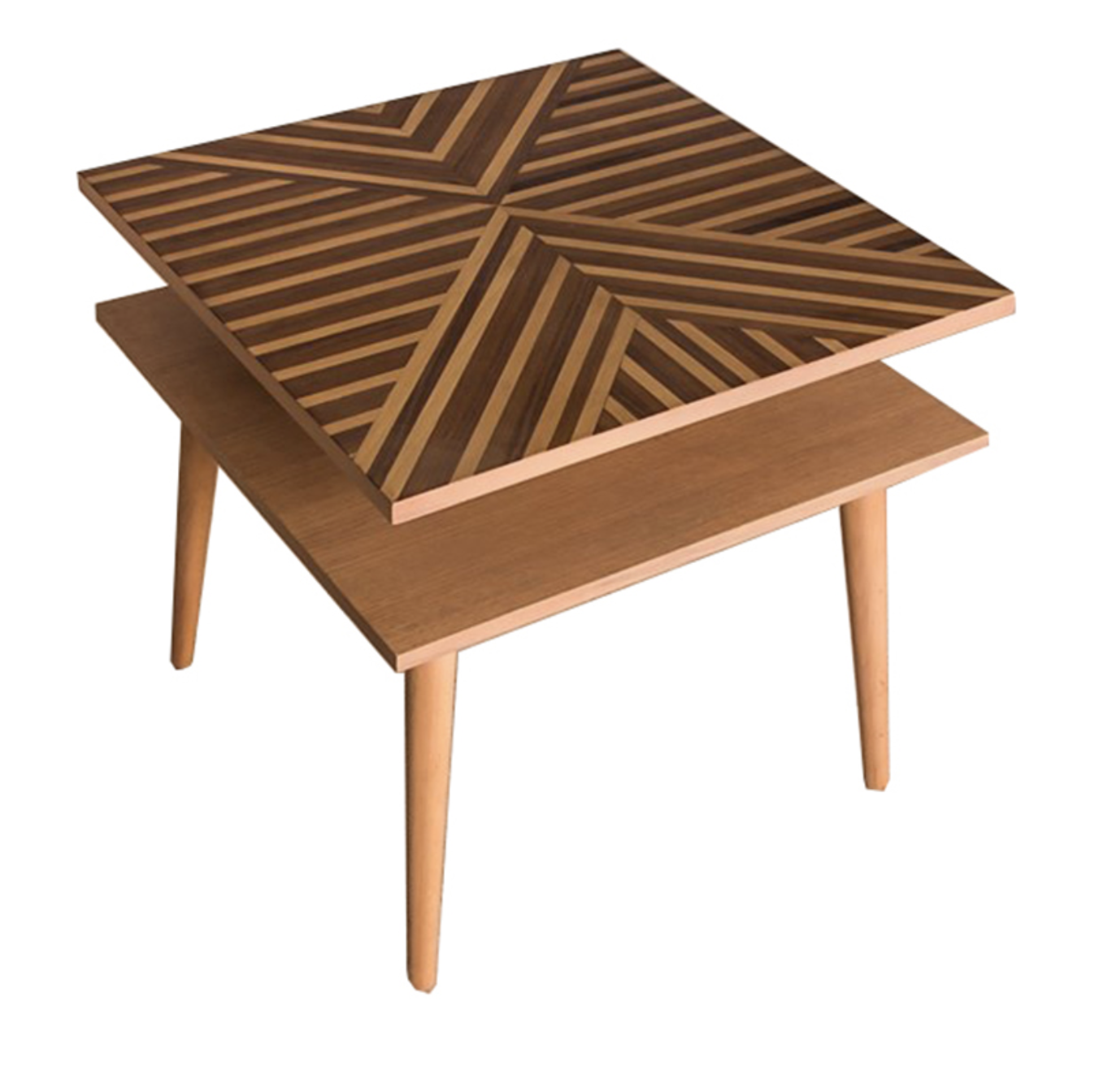 Geo Square Side Table