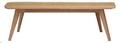 Short Wooden Bench