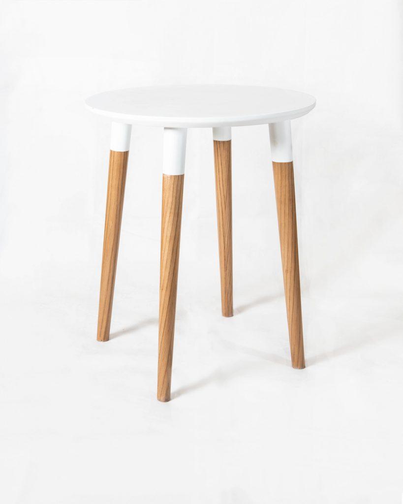 Basic White Side Table