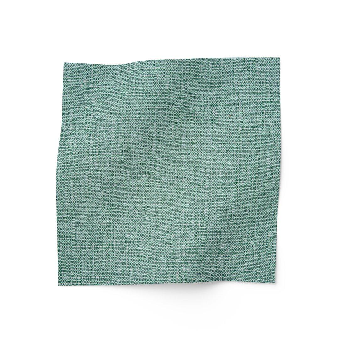 Washed Linen - Dark Green Fabric
