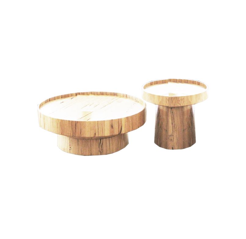 Wooden Block Coffee Tables