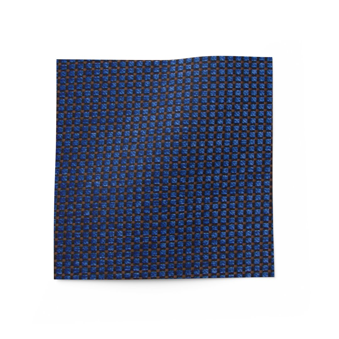 Blue Diamonds Fabric